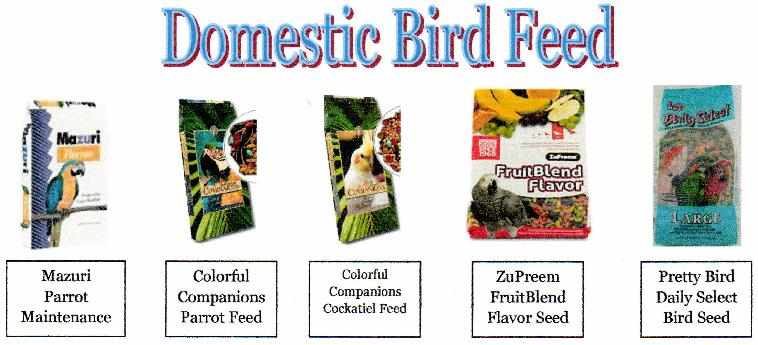 Domestic Bird Feed
